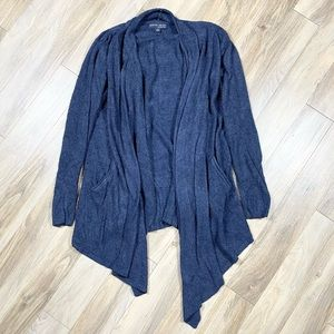 Barefoot Dreams Style 903 Navy Oven Front Cardigan